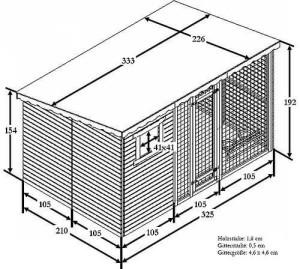 hundezwinger selber bauen jetzt bauanleitung durchlesen. Black Bedroom Furniture Sets. Home Design Ideas